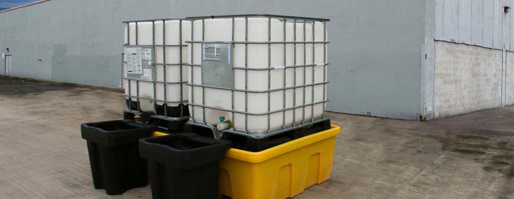 armazenamento de resíduos industriais