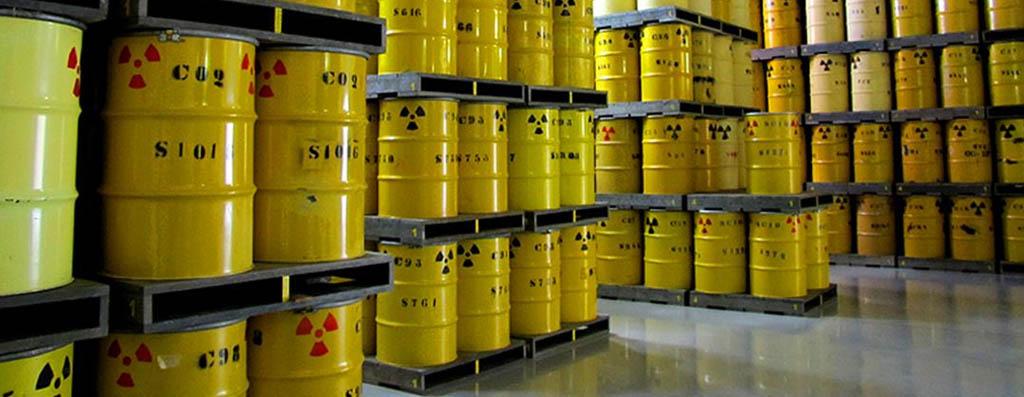 resíduo radioativo